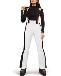 TOPSHOP - Sno Bullet Suspender Ski Trousers - Lyst
