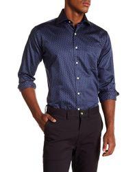 Peter Millar - Cross Country Regular Fit Mountainside Long Sleeve Shirt - Lyst