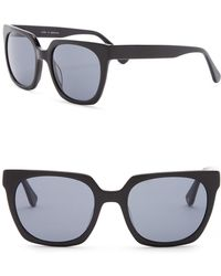 c318f24734ec Lyst - Burberry 55mm Retro Sunglasses in Black