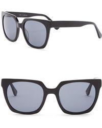 d15f4346ac3 Lyst - Burberry 55mm Retro Sunglasses in Black