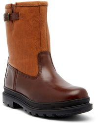 Frye | Riley Genuine Shearling Lined Waterproof Leather Boot | Lyst