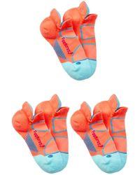 FEETURES SOCKS   Elite Light Cushion No Show Socks (small) - Set Of 3   Lyst