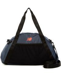 New Balance - Nylon Gym Bag - Lyst