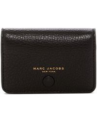 Lyst marc jacobs recruit leather business card case marc jacobs empire city business leather cad case lyst colourmoves