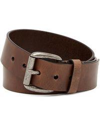 Frye - 38mm Oil Panel Leather Belt - Lyst