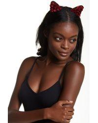 Noir Jewelry - Rosette Cat Ear Headband - Lyst