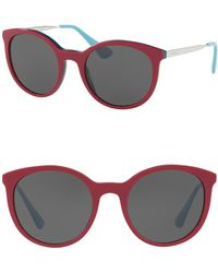 Prada - 53mm Phantos Sunglasses - Lyst
