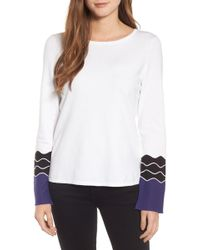 NIC+ZOE - Squiggle Top - Lyst