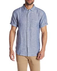 7bef9621d Tommy Bahama Marlin Party Camp Shirt in Blue for Men - Lyst