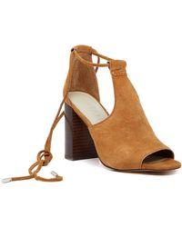 1.STATE - Tilya Block Heel Sandal - Lyst