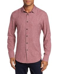 Vince Camuto - Trim Fit Performance Sport Shirt - Lyst