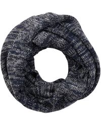 Bickley + Mitchell - Melange Stripe Knit Infinity Scarf - Lyst