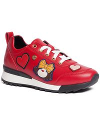 Love Moschino - Patchwork Sneaker - Lyst