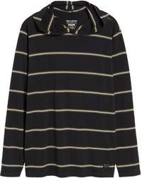 Billabong - Die Cut Stripe Pullover Hoody - Lyst