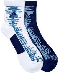 Adidas Originals | Frequency High Quarter Socks - Pack Of 2 (men) | Lyst