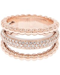 Swarovski - Click Crystal Ring - Size 58 (us 8) - Lyst
