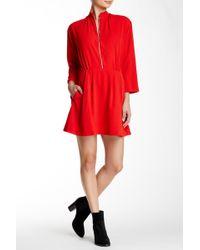 Amour Vert - Tippi Silk Dress - Lyst