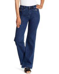Rebecca Minkoff - Elwood Wide Leg Jeans - Lyst