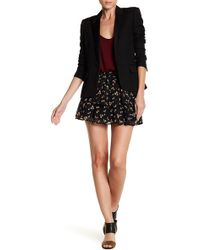 Love, Fire - Yoryu Smocked Tiered Floral Print Skirt - Lyst