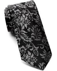 Ted Baker - Tonal Floral Silk Tie - Lyst