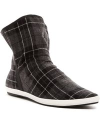 Sanuk - Kat Sphynx Plaid Boot (mens) - Lyst