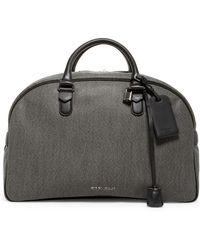 Giorgio Armani - Leather Duffle Bag - Lyst