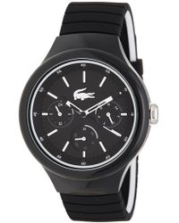Lacoste - Men's New Borneo Silicone Watch - Lyst