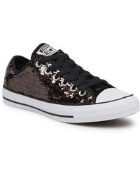 998f44e7c56 Converse Chuck Taylor All Star  Sequin Flag  Low Top Sneaker in ...