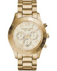 eeaaaeaf54ff Lyst - Michael Kors Mk8213 Layton Watch in Metallic for Men