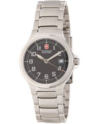 Victorinox - Men's Peak Ii Bracelet Watch, 32mm - Lyst