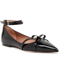 933d93be9ac5 Lyst - RED Valentino Patent Leather Saddle Shoes in Black