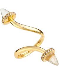 Rebecca Minkoff - Acorn Twist Ring - Size 7 - Lyst