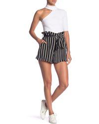 Lush - Paperbag Shorts - Lyst