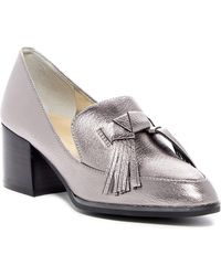 Marc Fisher - Phylicia Block Heel Loafer - Lyst