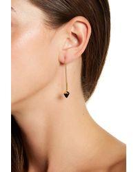 Botkier - Stone Threader Earrings - Lyst