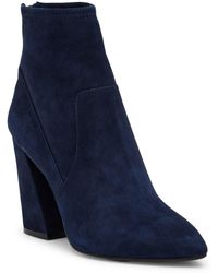 Kenneth Cole - Gracelyn Leather Boot - Lyst