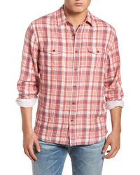 Grayers - Barnard Slim Fit Plaid Sport Shirt - Lyst