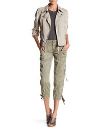 Marrakech - Lisza Cropped Cargo Pant - Lyst