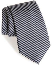 Calibrate - Stripe Silk Tie - Lyst