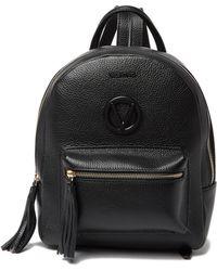 Valentino By Mario Valentino - Bastien Leather Mini Backpack - Lyst