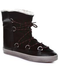 Kim & Zozi - Ski Faux Fur Trim Boot - Lyst