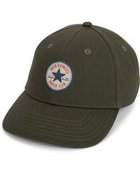 Converse - Short Visor Core Logo Baseball Cap - Lyst
