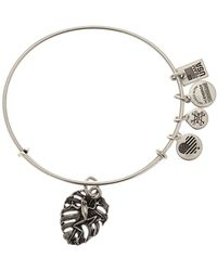 ALEX AND ANI - Frog Charm Expandable Wire Bangle - Lyst