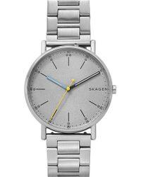 Skagen - Men's Signature Three Hand Movement Watch - Lyst