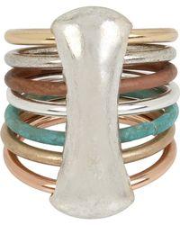Robert Lee Morris - Mixed Multi-row Ring - Size 8.5 - Lyst