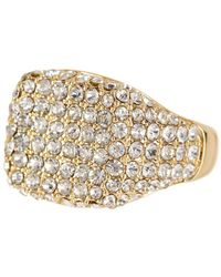 Ariella Collection - Pave Pinky Ring - Size 4 - Lyst