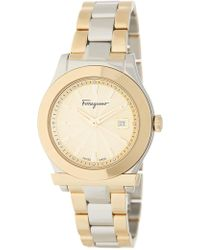 Ferragamo - Women's 1898 Bracelet Watch - Lyst