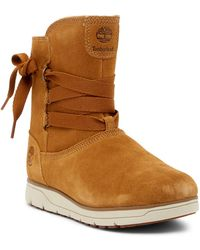 Timberland - Leighland Pull-on Waterproof Boot - Lyst