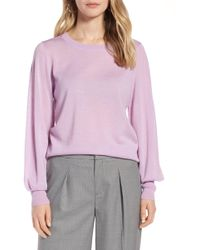 Halogen - (r) Puff Sleeve Sweater (regular & Petite) - Lyst