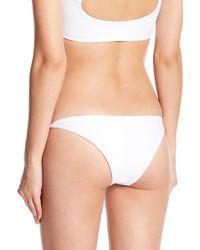 Mikoh Swimwear - Valencia Knot Tie Side Bottoms - Lyst